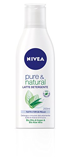 Nivea Visage Cleansing Pure&Nat Latte 200Ml