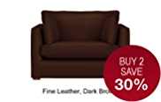 Medbourne Loveseat - Leather