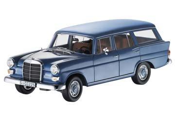 190/200 D Universal, W 110, 1965-1968 blau, Norev, 1:18