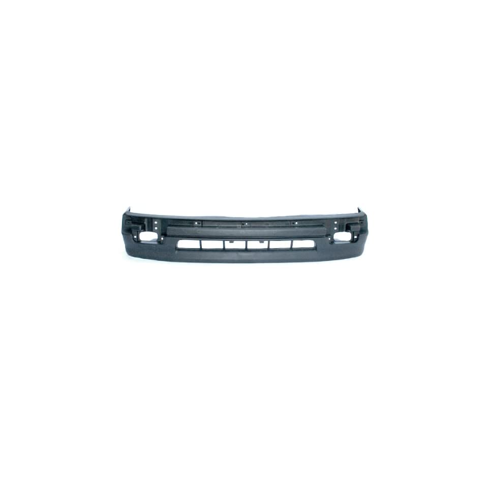 CarPartsDepot, Front Bumper Cover Facial Plastic Unpainted Black 2WD Cab Pickup Replacement, 352 44166 10 TO1095171 5391104060??