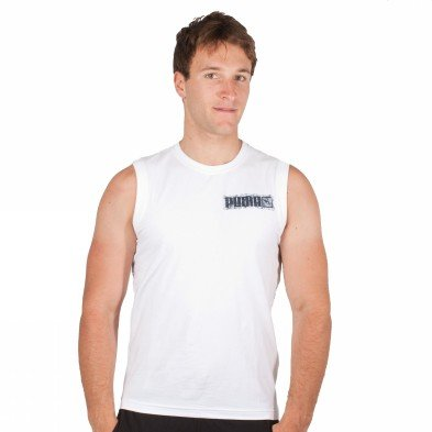 Puma Tank Top Mens Mens Sleveless Tee White