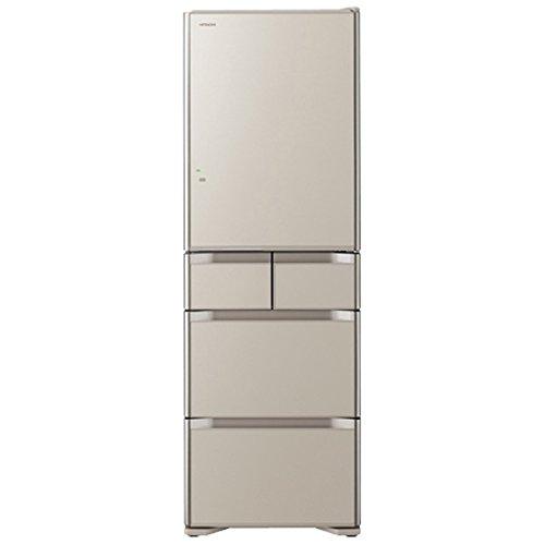 日立 415L 5ドア冷蔵庫(クリスタルシャンパン)HITACHI 真空チルド R-S4200F-XN