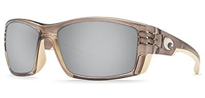 Costa Del Mar Cortez Sunglasses Crystal Bronze / Silver Mirror 580Glass