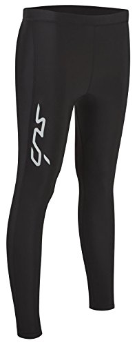 SUB Sports COLD Winter Womens Compression Tights – Thermal Base Layer Leggings – Black – M