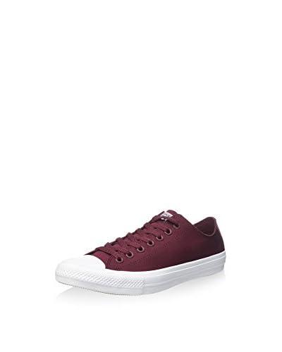 Converse Sneaker Ct As Ii Ox Tencel bordeaux/weiß