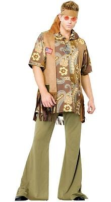 Groovy Guy Men's Costume Adult Halloween Outfit