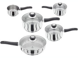 Judge Vista 5 Piece Set - 16/18/20cm SP, MP  &  24cm Sautepan