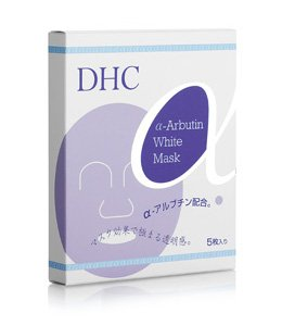 DHC Alpha-Arbutin White Mask 5 Sheets