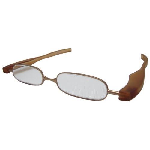 ジェーシー 折りたたみ老眼鏡 快読メガネSMART +2.5度 ブラウン KI-02-25
