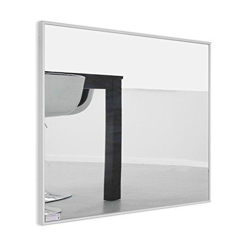 infrarotheizung spiegel mit aluminium rahmen 10mm 600. Black Bedroom Furniture Sets. Home Design Ideas