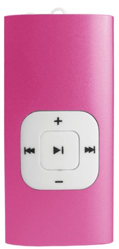Sylvania 2 GB Clip MP3/MP4 Player (Pink)
