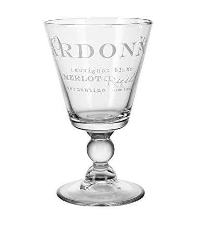 Lene Bjerre Agnes White Wine Glass, Clear