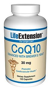 Enhanced CoQ10 w/ Brewer's Yeast 30mg 100 caps 100 Capsules