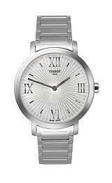 Tissot Happy Chic Bracelet Silver Sunray Dial Women's Watch #T034.209.11.033.00