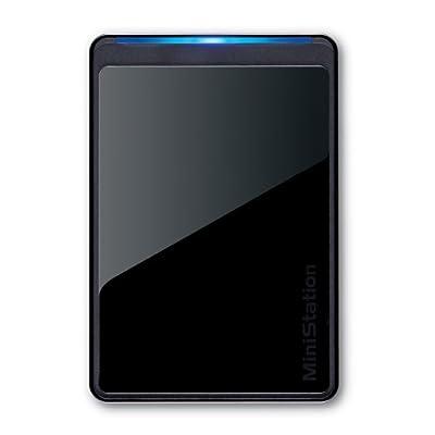 Buffalo MiniStation Stealth 500 GB USB 2.0 Portable Hard Drive - HD-PCT500U2/B
