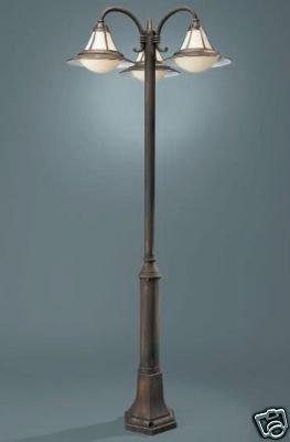 152154210 – Stilvolle Außenlampe Wegeleuchte Kandelaber