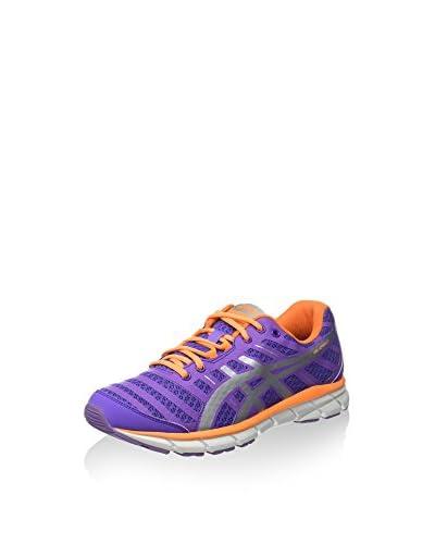 ASICS Zapatillas Performance Gel-Zaraca 2 Neon Purple/Silver/Neon Orange EU 42