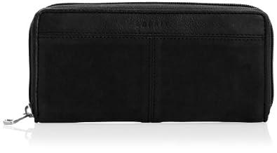 Esprit Womens Eve Zip Clutch Wallet 054EA1V016 Black