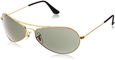Ray-Ban Oval Sunglasses (Gold) (0RB3306I00160)