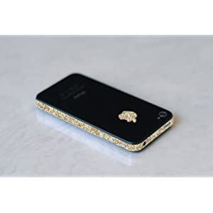iPhone 4S Antenna Wrap for AT&T , Sprint, and Verizon (Sparkling Gold)