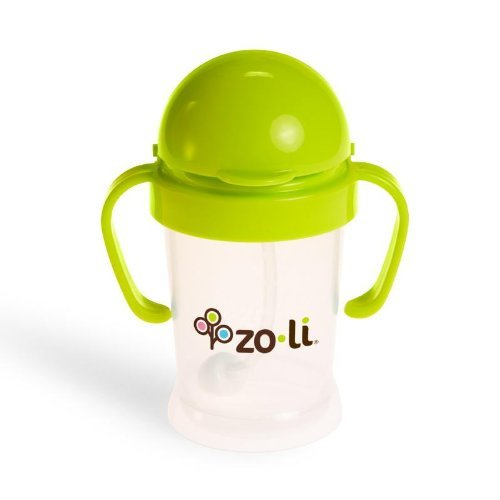 Zo-Li Bot Straw Sippy Cup 6Oz front-91656