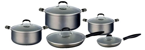 how to clean hard anodized cookware interior