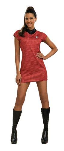 Star Trek Movie Red Dress Sm Halloween or Theatre Costume