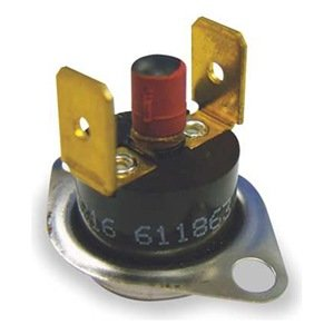 Limit Thermostat, Manual Rollout, 120/240V