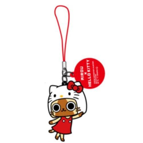 Sanrio Hello Kitty x Monster Hunter Airou Cell Phone Charm (Ariou Pointing)