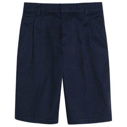 French Toast School Uniforms Pleated Adjustable Waist Short Boys navy 20 HUSKY