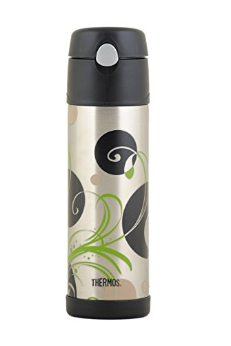 Thermos Stainless Steel Hydration Bottle, Reed Design, 17.9Oz front-946524