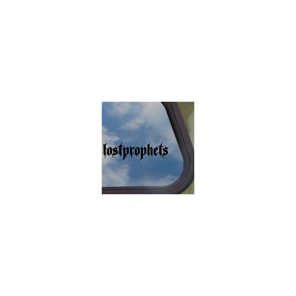 Lostprophets Black Decal Rock Band Truck Window Sticker