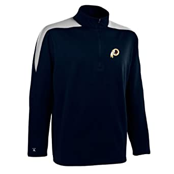 NFL Mens Washington Redskins 1 2 Zip Jersey Pullover by Antigua