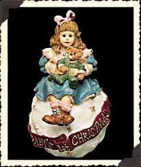 """Boyds Yesterday's Child """"Amy & Sam ... Baby's First Christmas"""" Ornament by The Boyds Collection Ltd."""