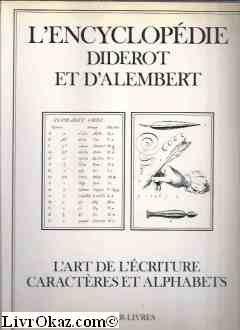 Livre Entier Gratuit en Ligne: L'Encyclopédie Diderot et d
