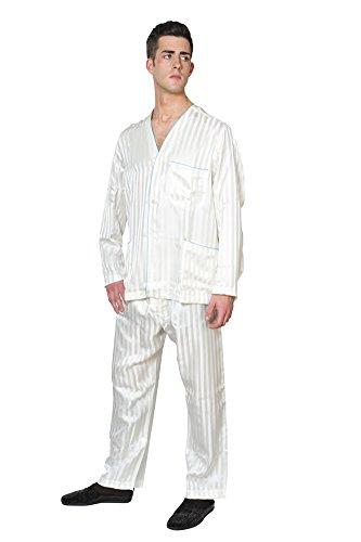 brioni-schlafanzug-herren-weiss-seide-gestreift