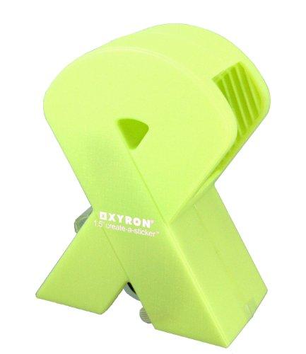 オリエント・エンタプライズ XYRON ザイロン X150シールメーカー リボン ライトグリーン XRN150R-LGR