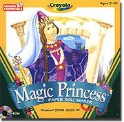 Crayola Magic Princess Paper Doll Maker front-847400