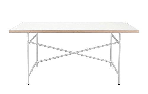 Kinderschreibtisch-Schreibtisch-120-x-70-cm-Eiermann-Tischplatte-wei-Gestell-wei-von-Richard-Lampert
