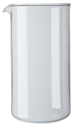 Bodum 34-Ounce Coffee Press Glass Replacement