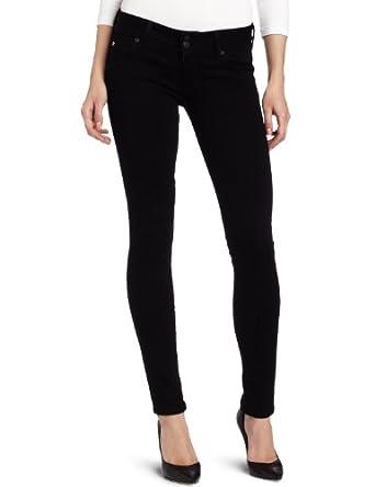 Hudson Jeans Women's Collin Skinny Jean, Black, 26