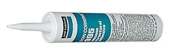Dow Corning 995 Silicone Structural Sealant - Black (Dow Corning 995 compare prices)