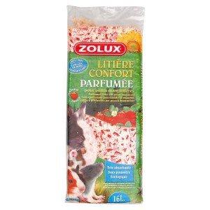 ZOLUX Copeaux parfum fraise 16L