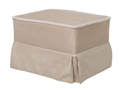 Baby Glider And Ottoman front-116755