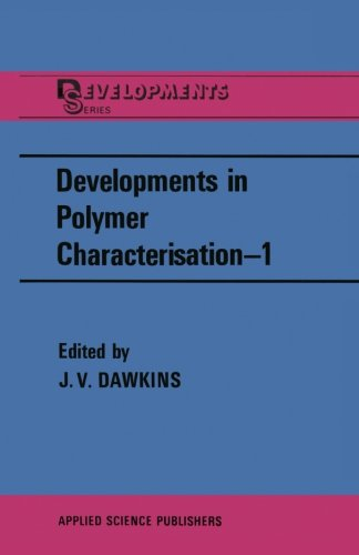 Developments In Polymer Characterisation - 1