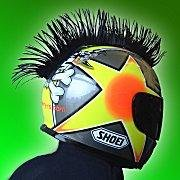 8 Colors Motorcycle Dirtbike ATV Snowmobile Helmet Mohawk Mohawks Helmets