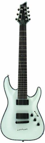 Schecter Hellraiser C-7 7-String Electric Guitar (Gloss White)