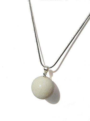 cadena-de-plata-con-sello-aprox-48-cm-en-colour-blanco-colgante-de-coral-de-espuma-20-mm