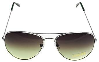 Klassische Pilotenbrille Unisex Sonnenbrille Fliegerbrille Pornobrille in vielen Farbkombinationen (64307)