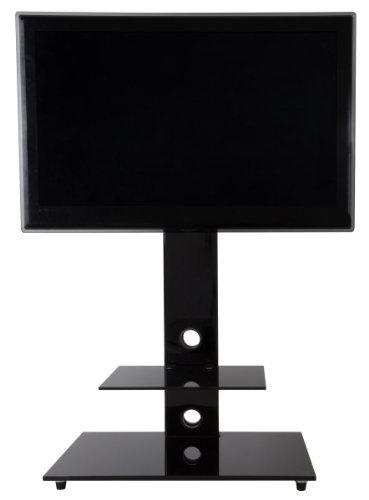 AVF Lesina Piano Black Cantilever TV Stand Black Friday & Cyber Monday 2014